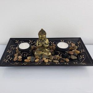 Other - MEDITATION MOTIVE CANDLE HOLDER
